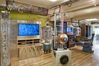 The WayBack Machine transforms obsolete and retro-technology into a lively, interactive electronic playground.