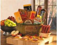 Wisconsinmade.com cheese and sausage gift baskets make a tasty gift for any occasion.