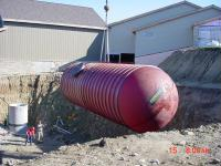 Water Tank for Fire Suppression, Horicon Marsh