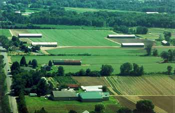 Beautiful Pioneer Valley farmland