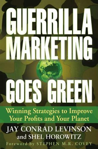 She's award-winning/best-selling latest book, Guerrilla Marketing Goes Green