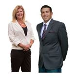Michele Johnson and Matthew Ahmed