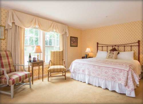 Newly restored rooms