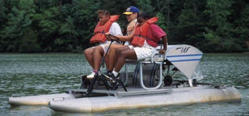 Take your own mini tour with our boat rentals.