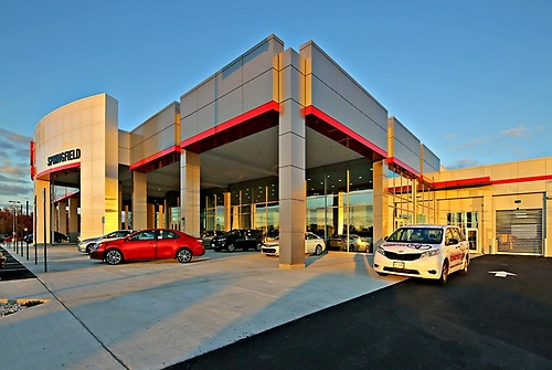 Springfield Toyota's new home on Loisdale Road
