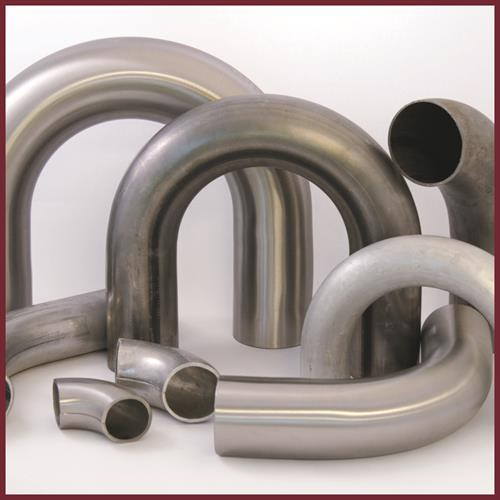 Sharpe Products offers the largest selection of stock bends in the country! Choose from an impressive array of sizes and radii in steel, stainless steel, and aluminum.