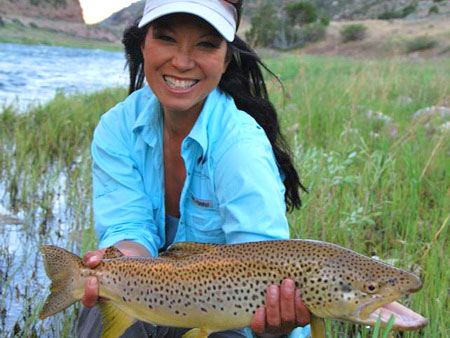 Wind river canyon whitewater fly fishing guides and for Fishing in the wind
