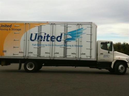 Call United today for all you moving needs, Full Service or DIY