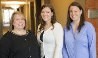 Office Managers Tammi Baker, Paige Bassett and Ashley McGouirk