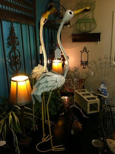 Indoor and outdoor metal decor!
