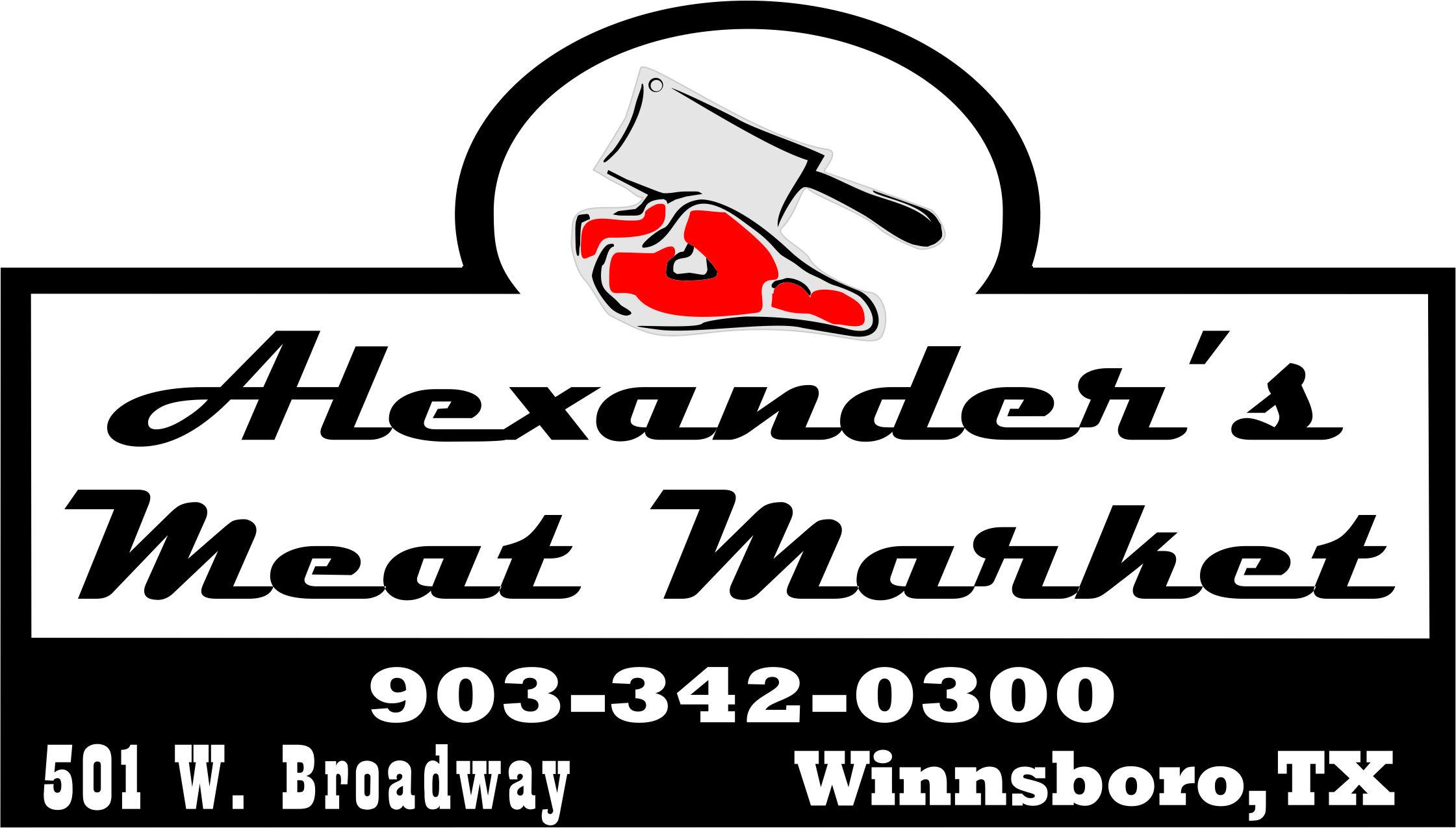 Alexander's Meat Market