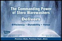 Stero Warewashing Ad