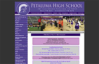 Design and Hosting for PetalmaHighschool.org