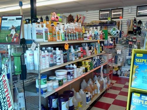 Amber Glen Feed Depot has a full line of products for your animals.