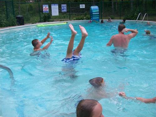 Oak Haven has Two Nice Heated Swimming Pools, Indoor and Outdoor
