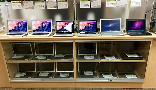 We have a HUGE selection of Apple products!