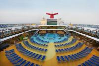 Poolside on the Carnival Magic.
