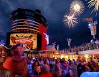 Pirate party on a Disney cruise.