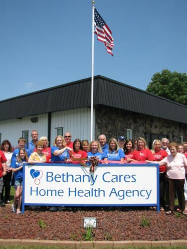 Ribbon Cutting at Bethany Cares Home Health Agency