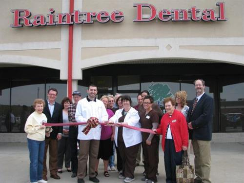 Ribbon Cutting at Raintree Dental