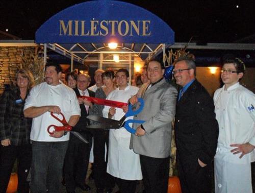Milestone Restaurant Ribbon Cutting