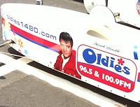 Oldies Soap Box Derby Car
