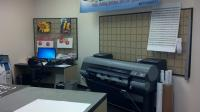 Print Production Area