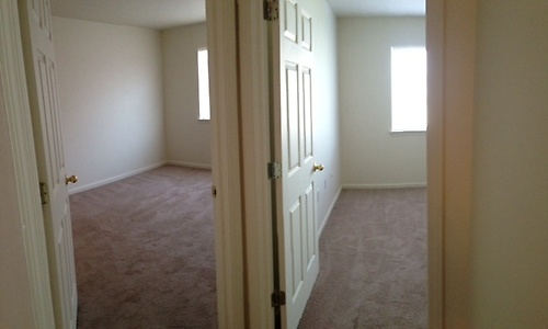 Side by side bedroom