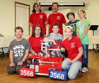 Kiwanis support the Linden Robotics Team