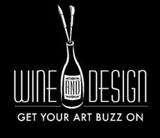 ''WINE & DESIGN'' AD LOGO