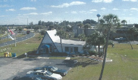 Original Office Building in Apollo Beach