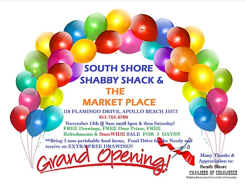 GRAND OPENING - 3 DAY CELEBRATION - NOV 2014