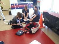 HCC SouthShore campus EMT/Paramedic training