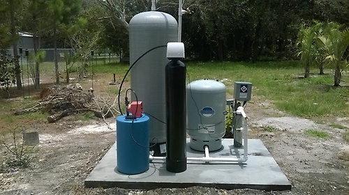 The job consisted of a 4-inch water well system, a 4-inch submersible pump system, and a water treatment system