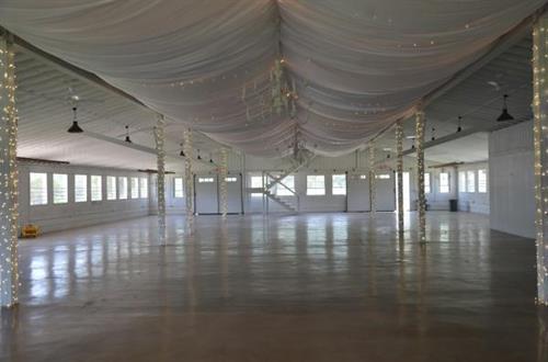 Inside Show Barn