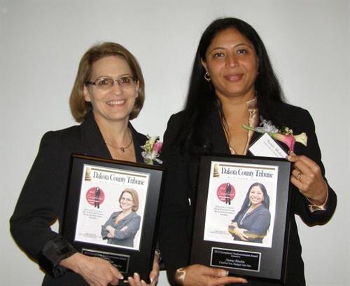 Sunny Bhakta, owner Award Winner Exceptional Businesswomen