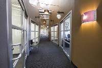 Modern High Ceiling Hallways
