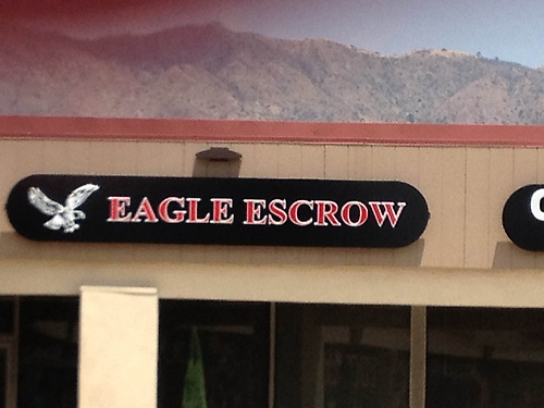 Our new sign at our new location.  Open for business June 1, 2015!!!