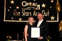 Shannon Stroeder receiving the 2011 Master's Emerald Award - Feb 28 2012