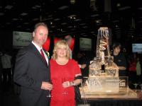 Dan & Cheryl Torwalt at the 2011 Abex Awards - Nov 19 2011