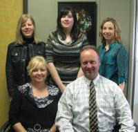 Jennifer Crone, Kim Athmer, Shannon Stroeder with Cheryl & Dan Torwalt - Feb 2012