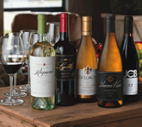 Select a Tasting Flight from Award Winning Wineries