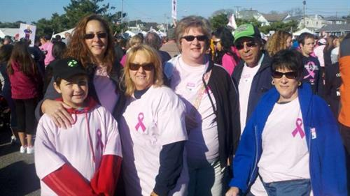 GMCC Women In Business at the Making Strides Walk in Pt. Pleasant