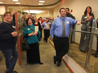 After Hours networking at Investors Bank in downtown Freehold