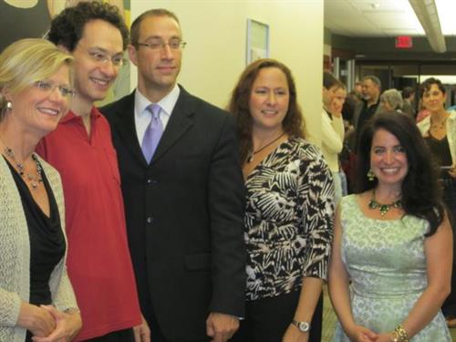 Investors Bank sponsored 'meet the artist' reception after the DCS Shai Wosner concert