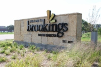 Welcome to Brookings! Population 22,056