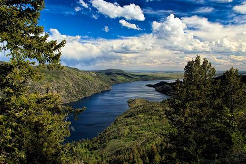 Fremont Lake, Pinedale, Wyoming - WY's second largest natural lake