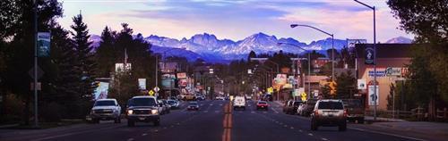 Pinedale, Wyoming 110 miles north of Rock Springs on US HWY 191