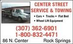 Center Street Towing