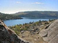 View of Half Moon Lake, Pinedale, WY